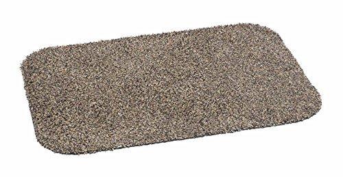 orientbazar24 Piede-Mat Cottob Eco Marrone 75x 50cm 80% Cotone 20% Microfibra Lavabile a 30Gradi