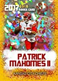 2017 Patrick Mahomes RC Rare CRACKED ICE GOLD #15 ROOKIE GEMS ROOKIE CARD CHIEFS. rookie card picture