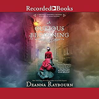 A Curious Beginning audiobook cover art