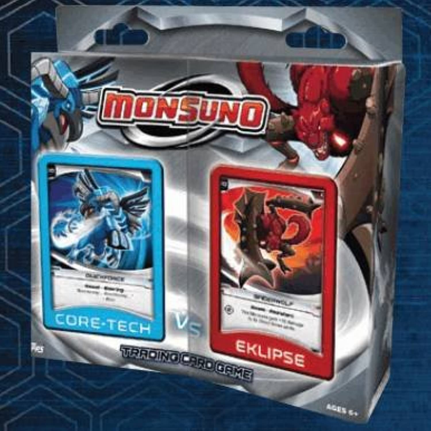 2012 Monsuno TCG Trading Card Game  CoreTech vs Eklipse (TwoPlayer Theme Starter Deck) QuickForce vs SpiderWolf by Topps