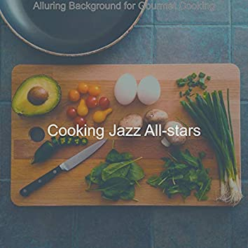 Alluring Background for Gourmet Cooking