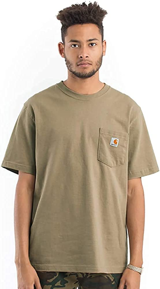Carhartt Men's K87 Workwear Short Sleeve T-Shirt (Regular and Big & Tall Sizes)