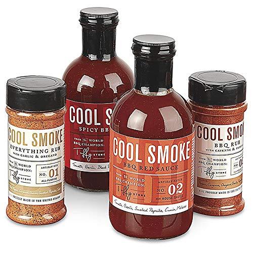 Cool Smoke: Tuffy Stone BBQ Set