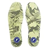 Footprint Insole Technology Kingfoam Ultra Low Profile Semelles de propreté Vert Camo Taille 7/7,5