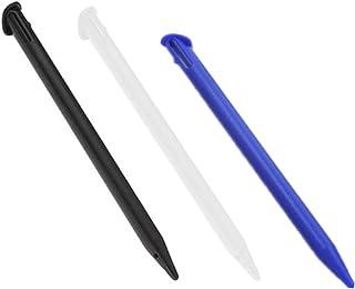 PPX 3 Piezas de Punteros stylus Lapices para Nueva Nintendo 3DS XL, New 3DS LL,negro, blanco, azul