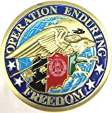 Operation Enduring Freedom Coin Afghanistan Coin Military Collectibles Men Women by EC