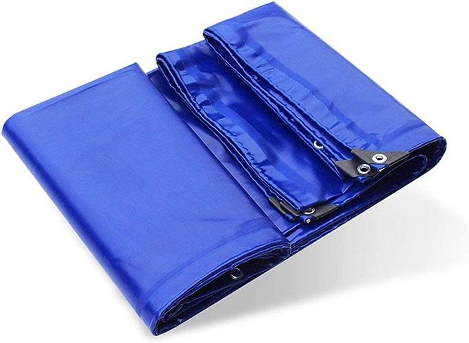 Bache de tente durable tente extérieure bache bache camping tapis voiture bache cargo prougeection solaire isolation (Couleur   Bleu, Taille   3X3M)