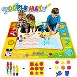 Jenilily Doodle Malmatte, 120x90CM Wasser Malmatte Baby Matte Toy Magic...