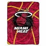 Miami Heat Shadow Play Throw Blanket