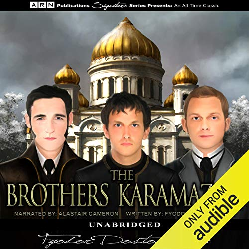 The Brothers Karamazov audiobook cover art
