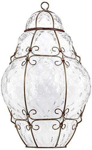 Siru MA101 – 035 CRB classic Applique, verre, 60 watts, E14, cristal Baloton, 23 x 33 x 10 cm