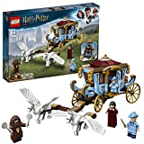 LEGO Harry Potter La Carrozza di Beauxbatons: Arrivo a Hogwarts, Set con 2 Figure di Cavalli, 75958