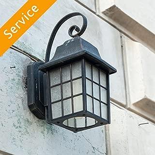 Exterior Light Fixture Replacement - Up to 2 Light Fixtures
