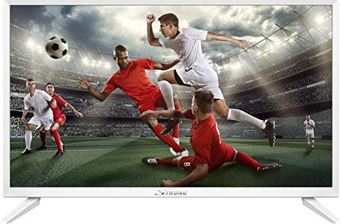 STRONG SRT 24HZ4003 NW - Televisores LED HD 24 Pulgadas, 60 cm, triple tuner (HDMI, Hotel Mode), blanco