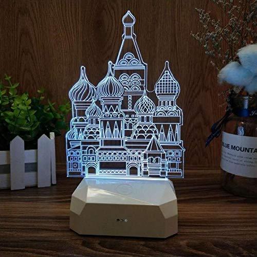 3D kleine tafellamp creatieve gift cartoon nachtlamp nachtkastje slaapkamer lamp dromen zacht licht verjaardagscadeau
