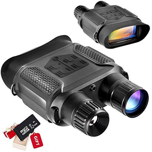 Braveking1 Digitales Nachtsichtgerät, 7X Vergrößerung im Darkness Adjustable Fernglas 2