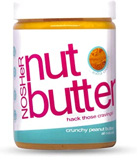 NOSHeR All Natural Crunchy Peanut Butter, 1kg...Highly Nutritious & Zero Cholesterol