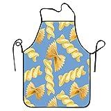 N\A Delantal para Hombres, Mujeres, Cocineros Ajustables Delantal de Cocina para Restaurante Craft Garden BBQ - Pasta