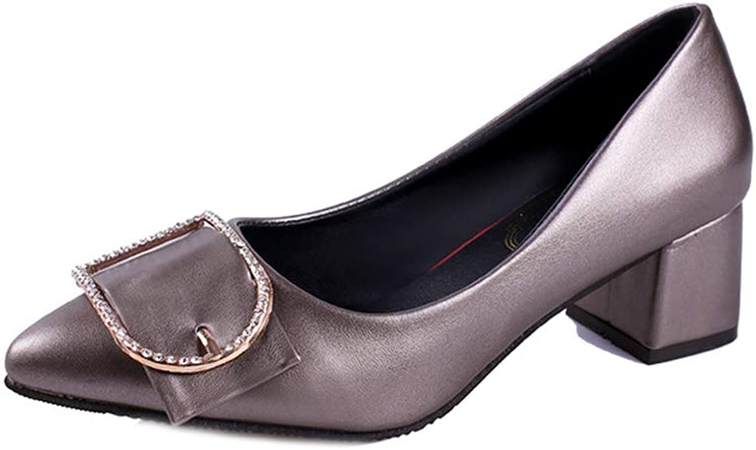 Sunny Day New Single shoes Women Large Size Fashion Pointed shoes
