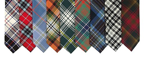 I Luv Ltd Murray Modern Clan 100% Wool Scottish Tartan Tie