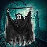 Faffooz Halloween Suspendus Fantôme Halloween Squelette Décoration...