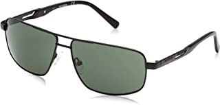 Matte Black//Green 60 Uomo HARLEY-DAVIDSON EYEWEAR HD0927X Occhiali da sole