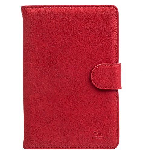 RivaCase 3017 Tablet Case 10.1' - Custodia Universale per Tablet da 10.1', Rosso