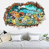 Stickers Muraux Accessoires De Décoration De Chambre D'Enfant Pokemon Go...