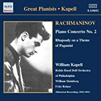Rachmaninov: Piano Concerto No. 2 / Rhapsody on a Theme of Paganini (2007-02-13)