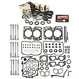 Evergreen HSHBTBK9009-2 Head Gasket Set Head Bolts Timing Belt Kit Fits 00-03 Subaru 2.5 SOHC EJ251 EJ252