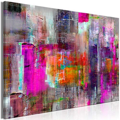 murando Cuadro Mega XXXL Abstracto 165x110 cm Cuadro en Lienzo en Tamano XXL Estampado Grande Gigante Imagen para Montar por uno Mismo Decoración De Pared Impresión DIY Colorido a-A-0217-ak-c