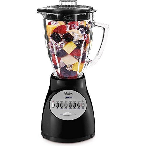 Oster Blender 14 Speed with Glass Jar 6694-B Black