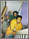 A Tribe Called Quest Hip Hop Q Tip Mc Musik Poster