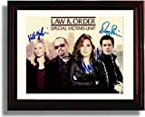 Framed Law and Order SVU Autograph Replica Print - Cast Signed