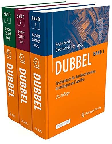 Dubbel Taschenbuch für den Maschinenbau SET 1-3