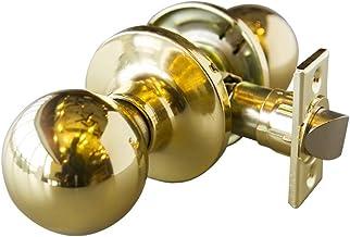 Design House 727024 Bay 6-weg slot passage deurknop, gepolijst messing
