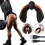 Hips Trainer Electroestimulador Muscular,Gluteos Estimulador de Glúteos Herramientas Nalgas HipTrainer para la Cadera Masculino Mujer USB Recargable