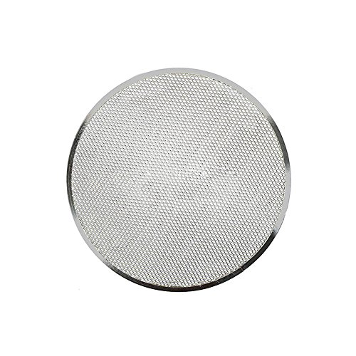 Pizza Pan Baking Tray Non Stick Pizza Screen Baking Tray 6/8/9/10/12/14 Inch Aluminum Alloy Bakeware Cook Net for Restaurant Home Kitchen Grill Barbecue (6inch)