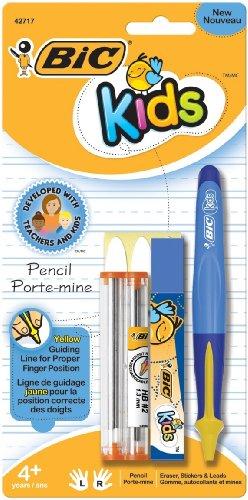 BIC Kids Mechanical Pencil, 1.3mm, Blue Barrel, 1-Count
