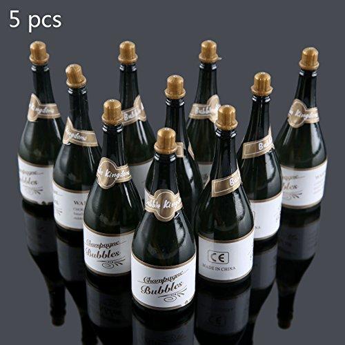 Mgoodoo Lege Bubble Zeep Champagne flessen Bruiloft Kerstmis Verjaardag Party Decor