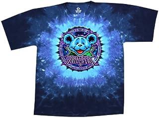 Liquid Blue Men's Grateful Dead Zodiac Bear Short Sleeve T-Shirt