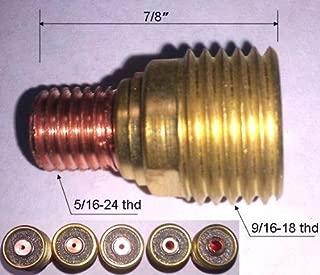 WeldingCity 5-pk Gas Lens Collet Body 45V44 (3/32