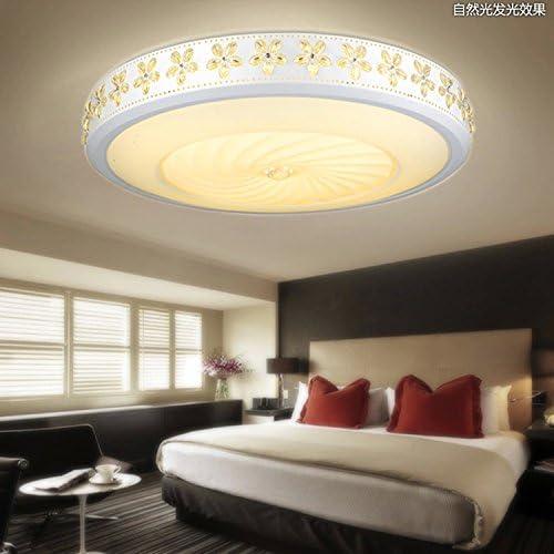 KANG@ Plafond Led Luminaire pour chambre à coucher salle de séjour salle à hommeger moderne et simple de création du corridor,Lustre Φ 30 015W,les trois couleurs
