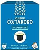CAFFE' COSTADORO Descafeinado Compatible Con Nespresso Caja De 12 Cápsulas 60 g