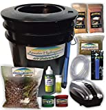 The Atwater HydroPod - Standard A/C Powered DWC Deep Water Culture/Recirculating Drip Hydroponic Garden System Kit - Bubble Bucket - Bubbleponics - Grow Your Own! Start Today! Nutrients are Included!