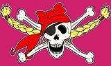 U24 Fahne Flagge Piratenprinzessin II Pirat Prinzessin 90 x 150 cm