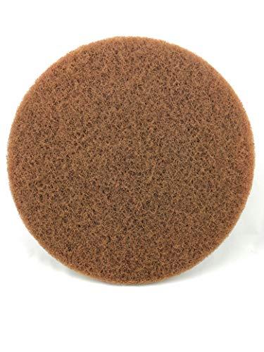 Onbekend Superpad machine pad 330 mm - 13 inch bruin (5 stuks)
