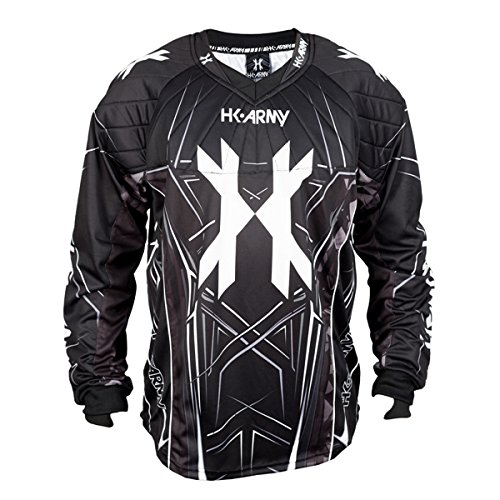 HK Army HSTL Line Jersey (Black/Grey, Large)