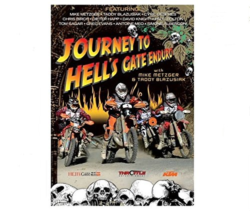 JOURNEY TO HELL\'S GATE ENDURO DVD - 2008 Hells Date Extreme Enduro
