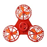 Kaemma Flying Spinner Aircraft Flying Finger Tops Autism Anxiety Stress Release Toys Great Funny Gift Toys